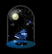 月夜のピアノ